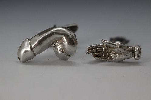 Hand Job Cufflinks