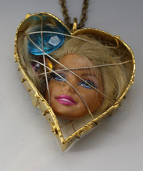 Caged Barbie