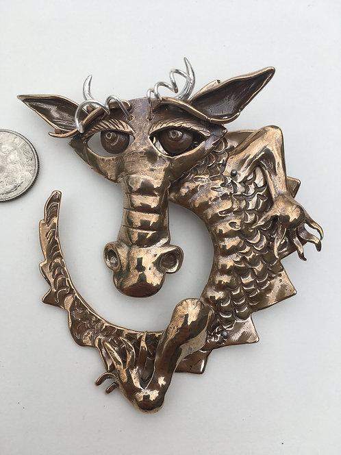 GreenSmoke the Dragon pendant