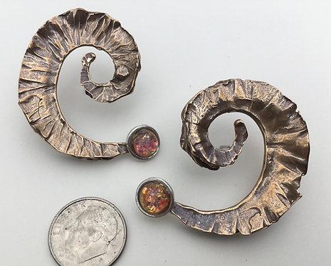 Fold-Form Earrings
