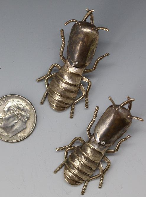Reticulitermes-Termite Earrings