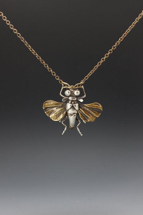 Strepsiptera Pin or Pendant