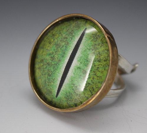 Reptile Eye Ring