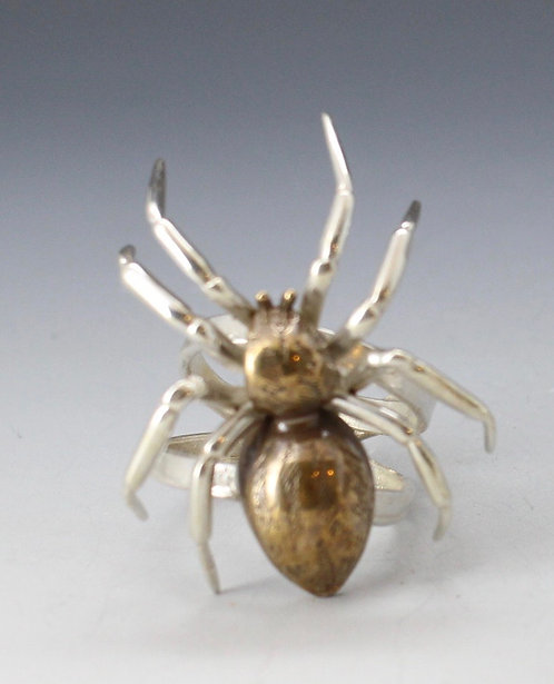 Spider Rings sterling or bronze