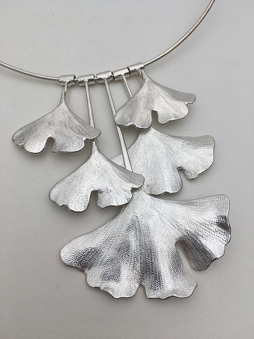 Gingko Biloba Necklace