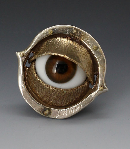 Glass Eye Ring