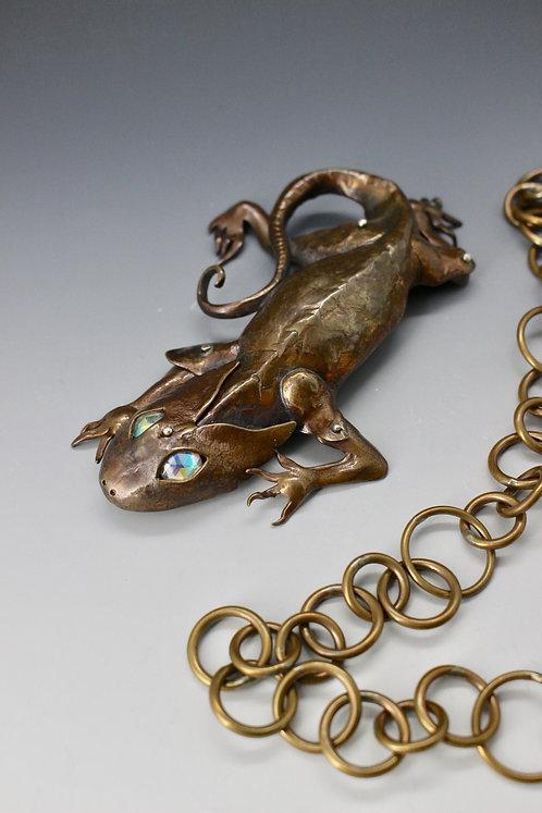 Anole Necklace pendant