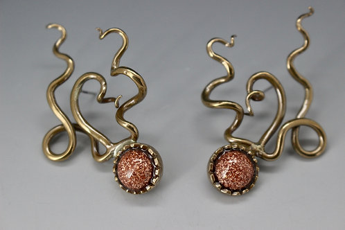 Crazy Curl earrings