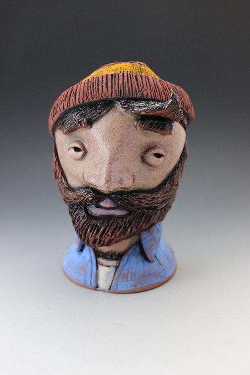 Paul Bunyan or the Brawny PaperTowel Man FacePot