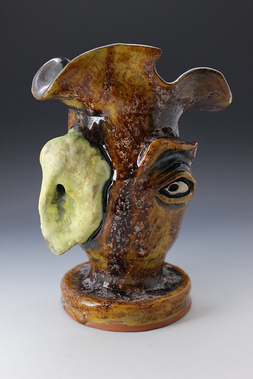 Raphus Cucullatus  DodoBird  Face Pot
