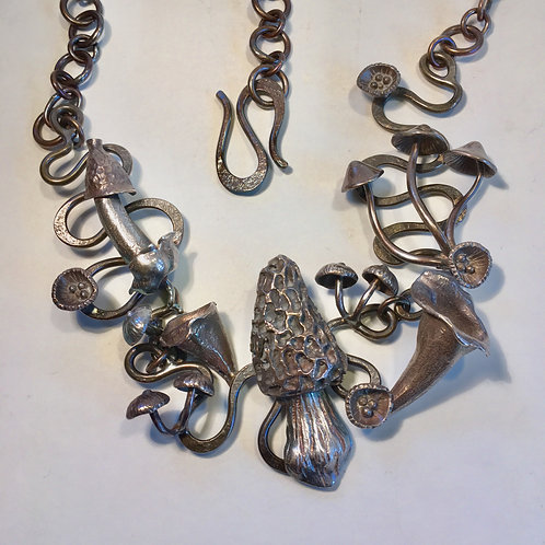 Mushroom Fantasy Necklace