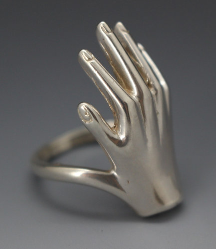 Hand Ring sterling