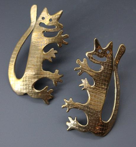Anasazi Cats bronze