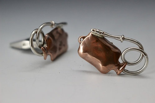 Enema Bag Cufflinks