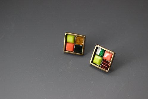 Mosaic Stud earrings