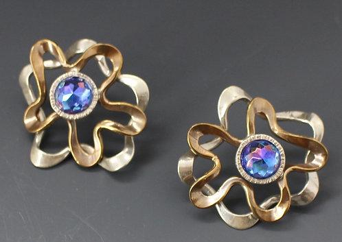 Amoeba Earrings