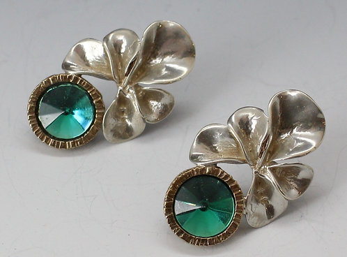 Metal Flower earrings