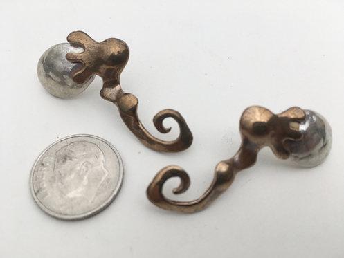 Fallopian Tube Earrings