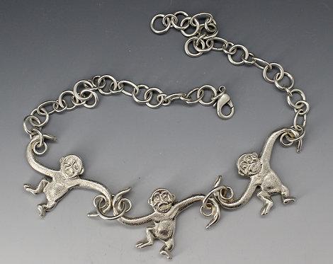 Barrel O' Monkey Necklace