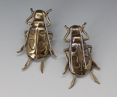 Tiger Beetle Earrings