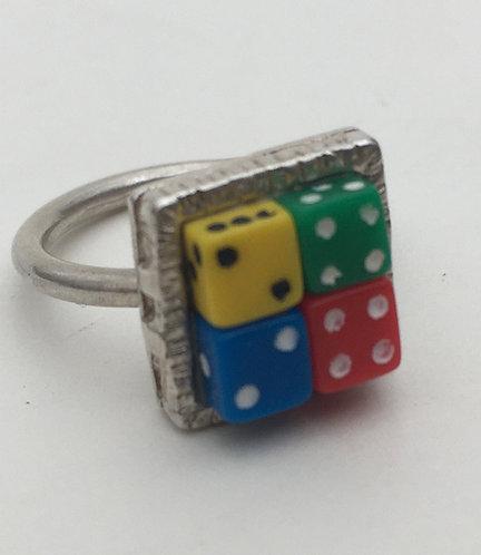 Tiny Dice Ring