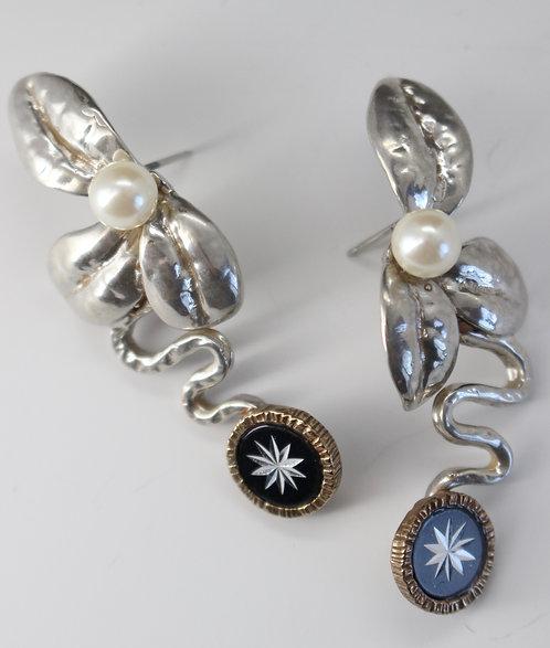 Geraldine Earrings sterling