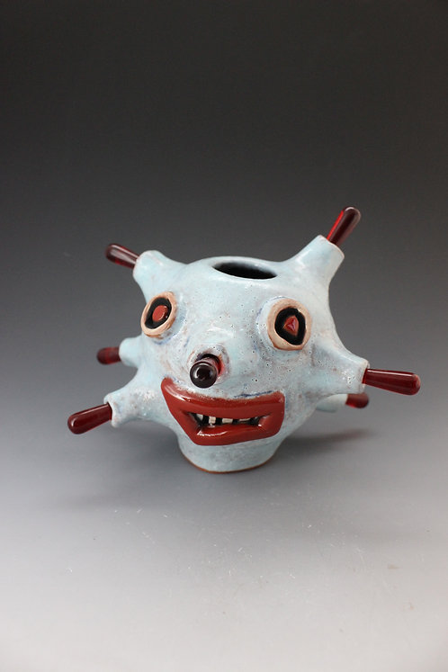 Covid-19 Face Pot