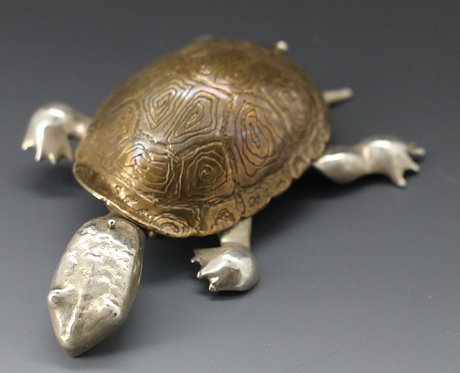 Box Turtle pin or pendant