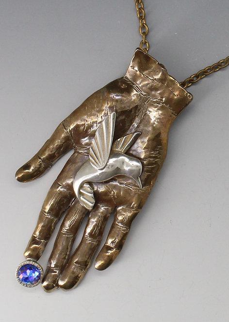 Bird in Hand Pendant