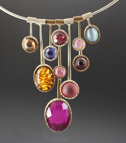 Stix and Stonz necklace Colorful