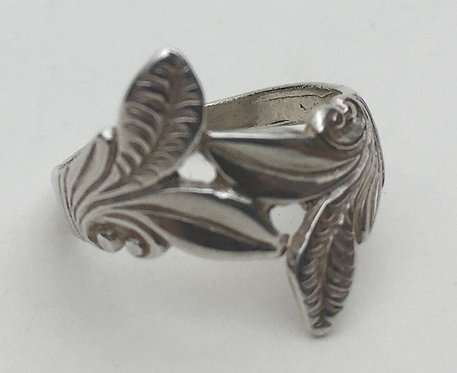 Bali Leaf Ring