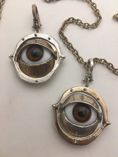 Glass Eye Pendant