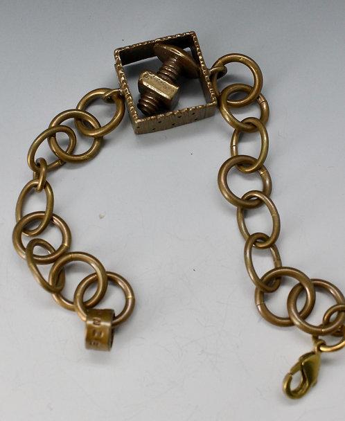 Nut n' bolt bracelet