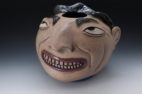 Diego Rivera Face Pot