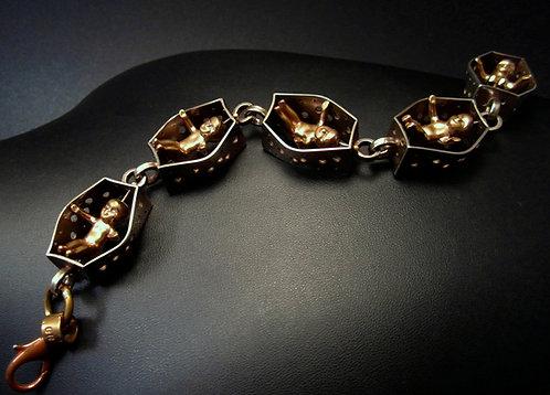 King Cake Baby Bracelet