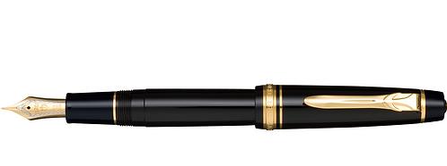 Sailor Progear II Siyah Altın 21 Kt. Dolma Kalem