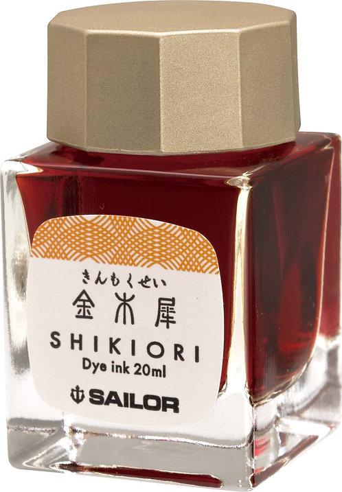 SAILOR SHIKIORI INK SERIES 'KIN-MOKUSEI'