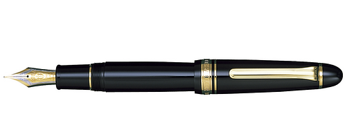 Sailor King Of Pen 1911 Siyah Altın 21 Kt. Dolma Kalem
