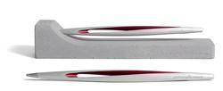 NPKRE01588-NAPKIN PININFARINA AERO RED