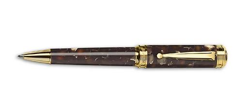 Signum Carina Kahverengi Altın Tükenmez Kalem