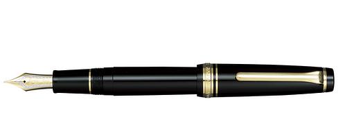 Sailor Progear Siyah Altın 21 Kt. Dolma Kalem