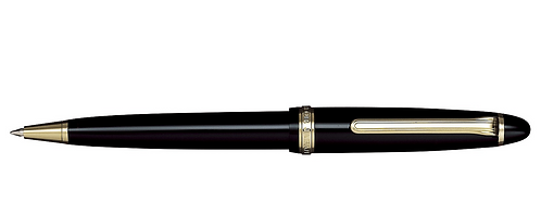 Sailor 1911 Siyah Altın Tükenmez Kalem