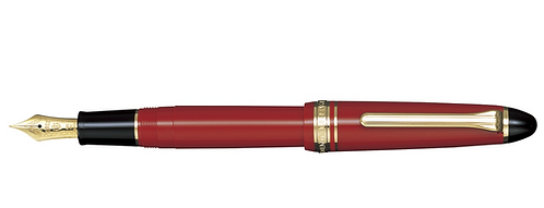 Sailor 1911S Color 14 Kt. Kırmızı Dolma Kalem