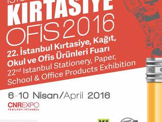 6-10 Nisan İstanbul Kırtasiye Fuarı
