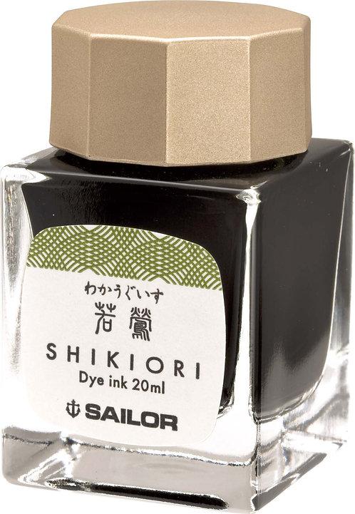 SAILOR SHIKIORI INK SERIES 'WAKA-UGUISU'