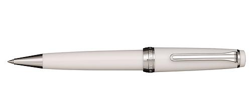 Sailor Progear İnce Beyaz Gümüş Tükenmez Kalem