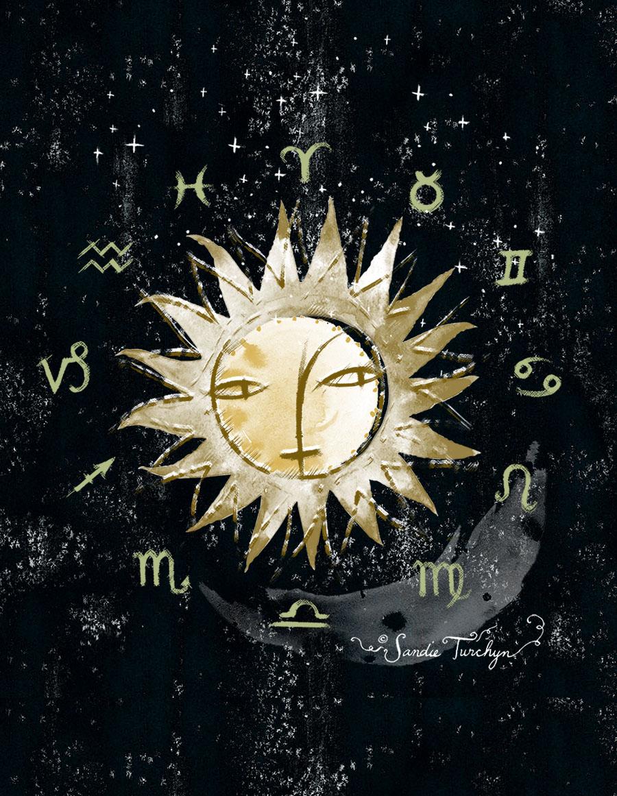 AstrologyPage©sandieturchyn
