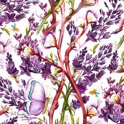 PurpleBlossoms©sandieturchyn