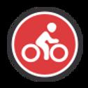 Bicyclist logo