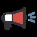 megaphone graphic